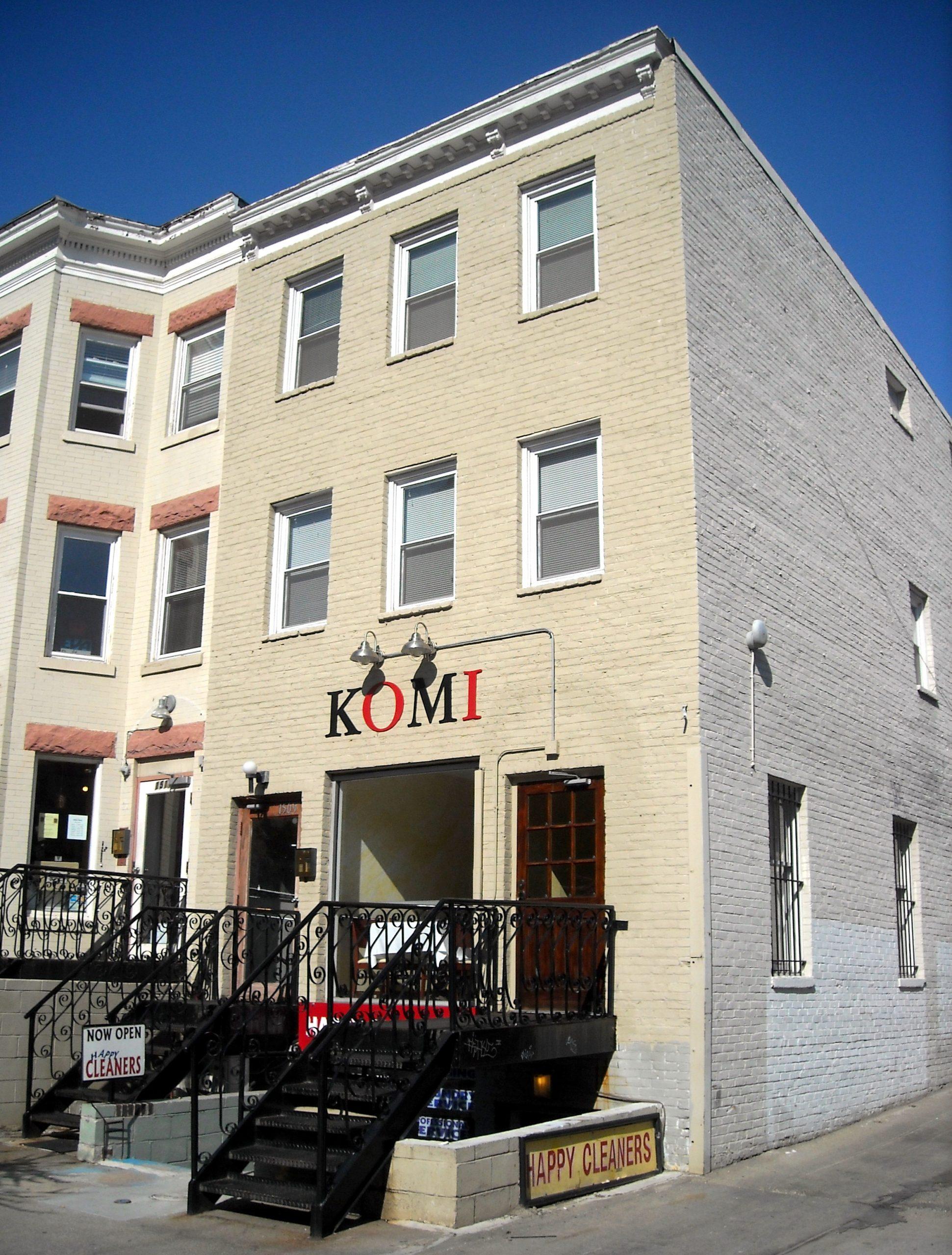 A Romantic Dinner at Komi, D.C.